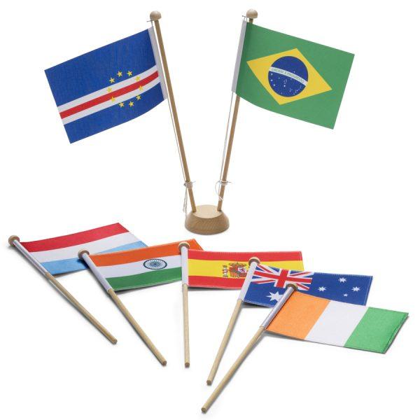 Landen – tafelvlaggen