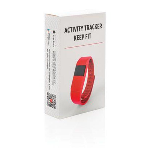 Activity Tracker Rood Verpakking XIMA