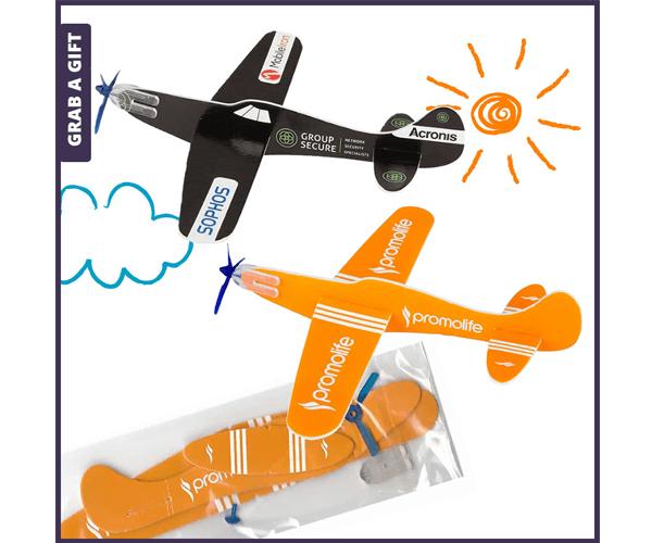grab a gift vliegtuigje