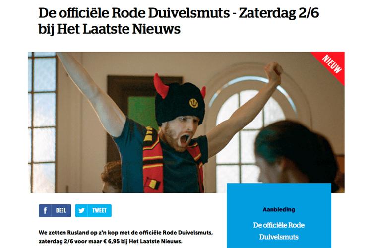 Grote WK-acties van JBC en HLN - hln belgie