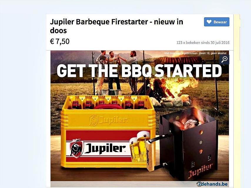 jupiler firestarter