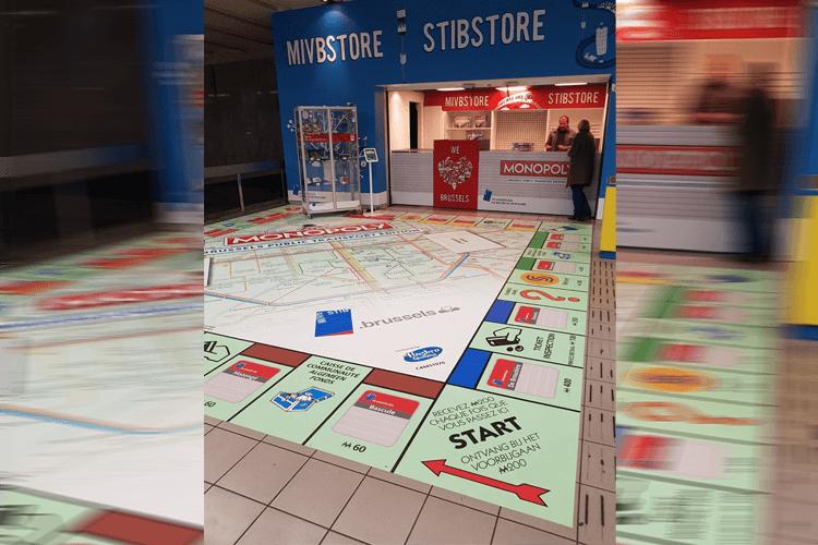 MIVB heeft eigen Monopoly-spel