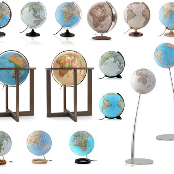 National Geographic globes