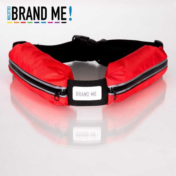 Flexible reflective Running Belts bedrukken