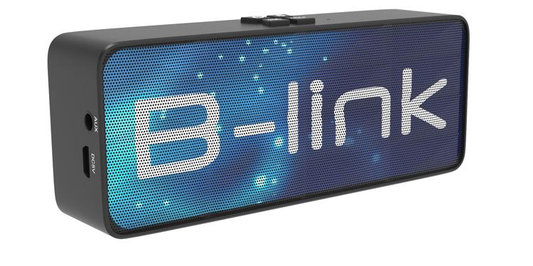 Bluetooth speaker met logo B-link