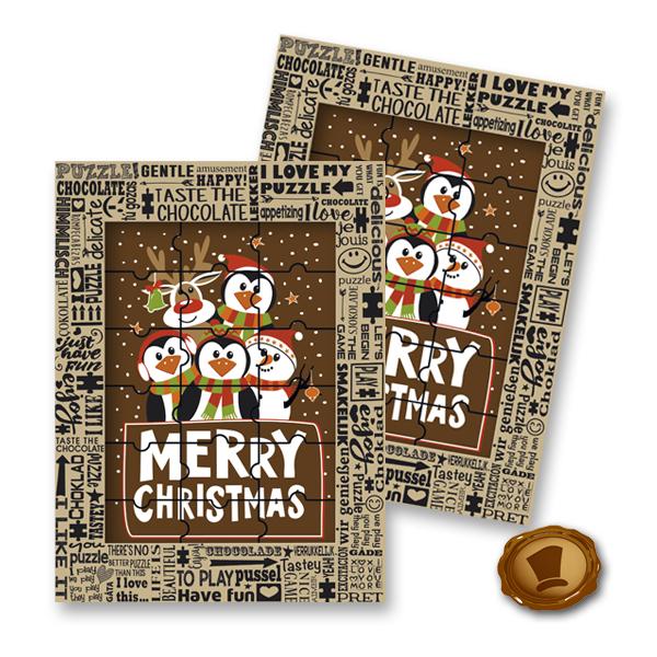Chocolade Puzzel - Merry Christmas