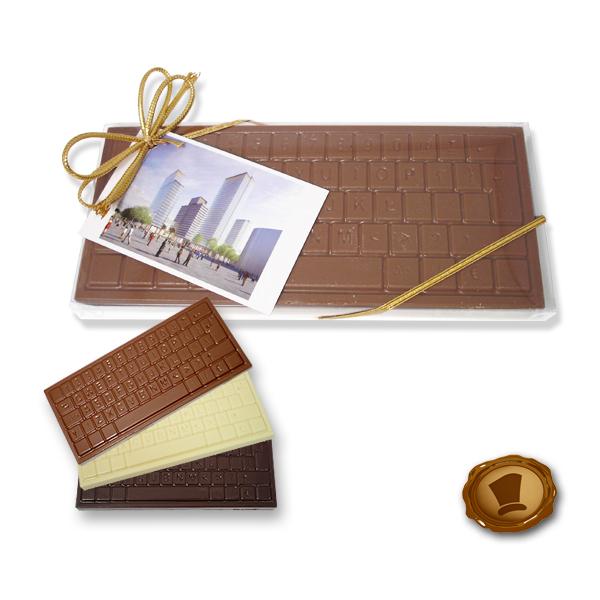 Chocolade Toetsenbord