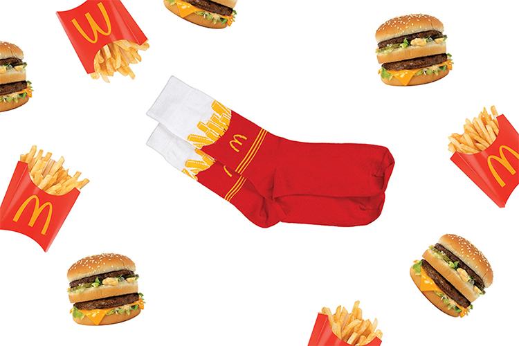 McDonalds merchandising ter promotie van UberEats