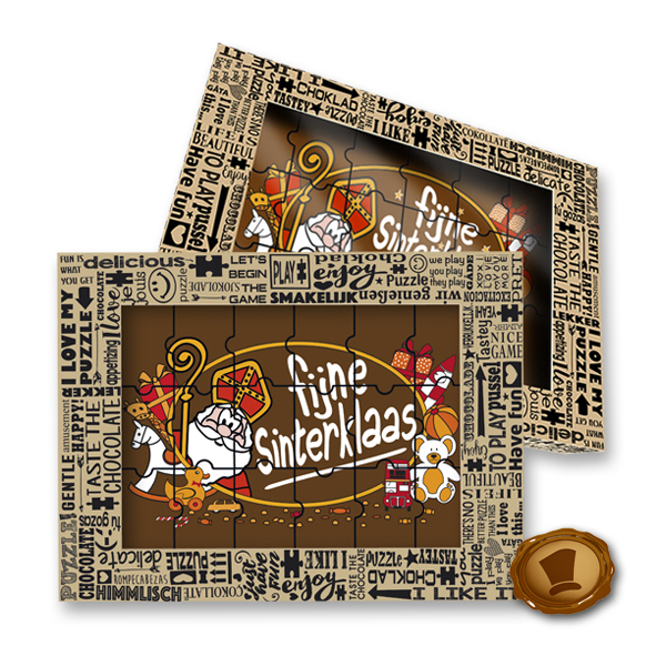 Chocolade Puzzel - Fijne Sinterklaas