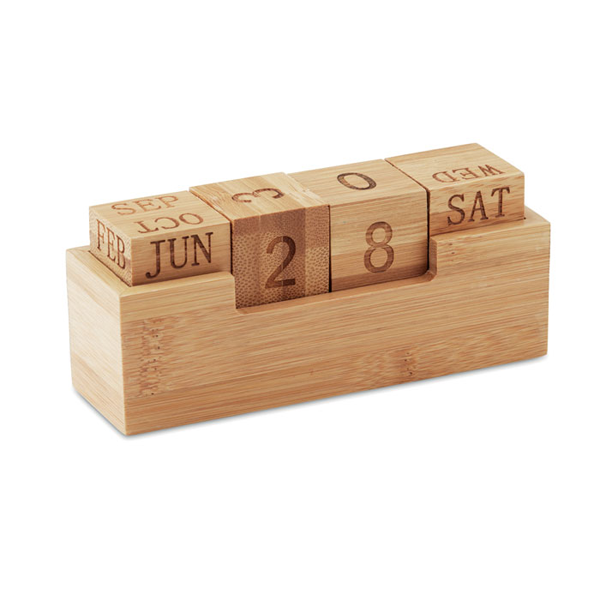 Bamboe bureaukalender
