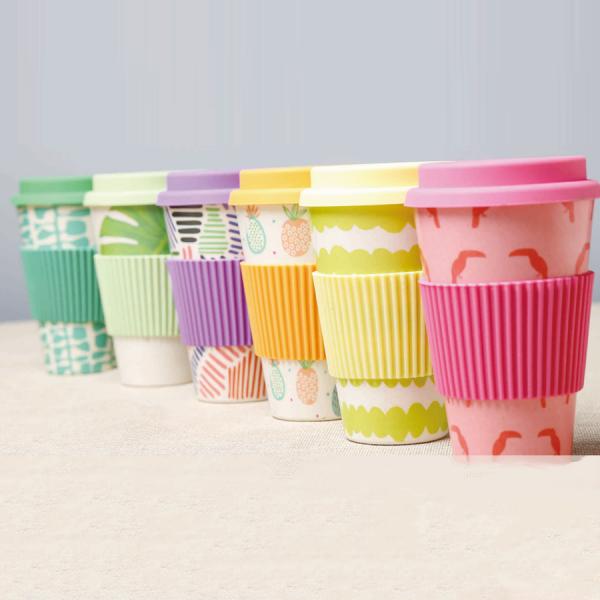 Bamboe-koffiebeker