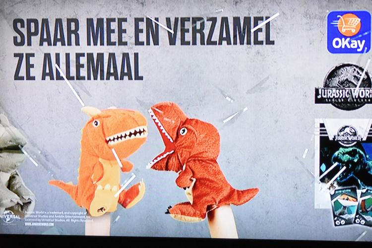 Jurassic World-spaaractie bij DreamLand en OKay