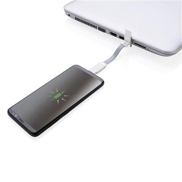 4 In 1 Kabelsleutelhanger Telefoon Opladen XIMA