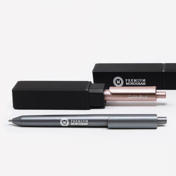Chalk Metal - luxe gegraveerde pen in elegante geschenkverpakking