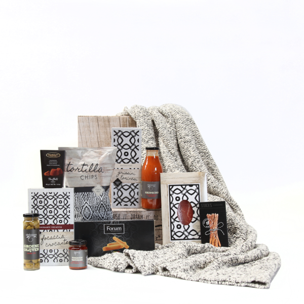 Cosy Knitted Blanket - FDS Promotions