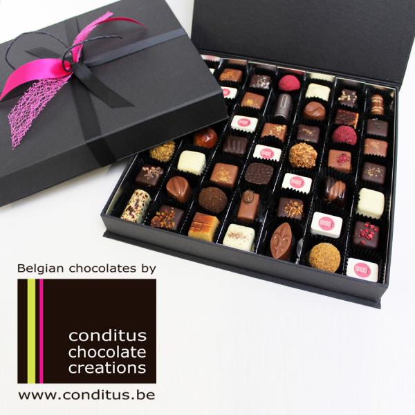 Promotionele en relationele (gepersonaliseerde) chocolade geschenken voor marketing en HR doeleinden