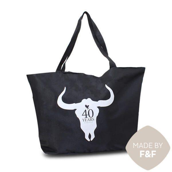 XXL ShoppingBag Forever Stier Zwart XIMA