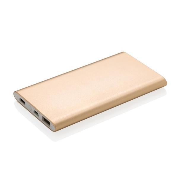 4.000 mAh type C powerbank, zwart