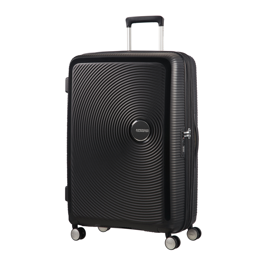 American Tourister Soundbox koffer met logo