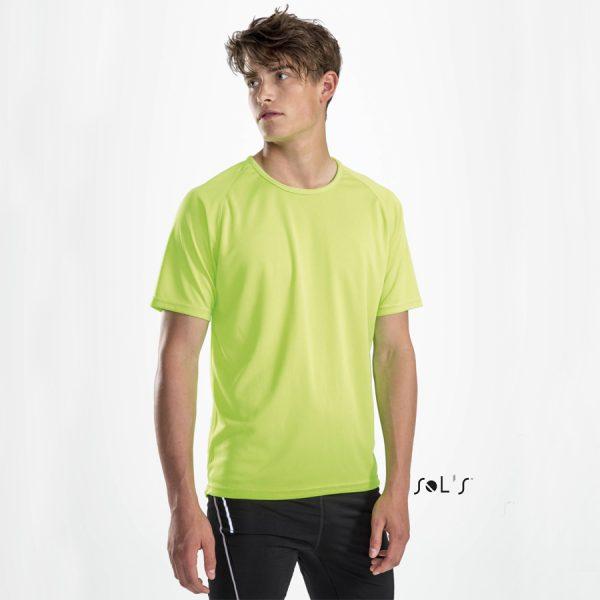 Bedrukt sport T-shirt met raglan mouwen Sol's Sporty