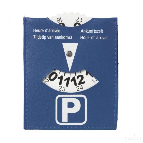 Bedrukte Euronorm parkeerschijf met logo