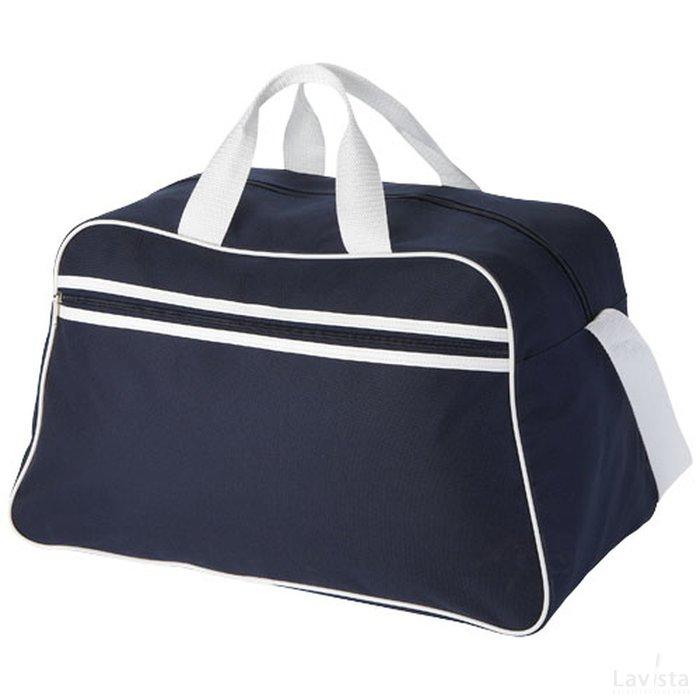 Bedrukte goedkope San Jose polyester sporttas met logo