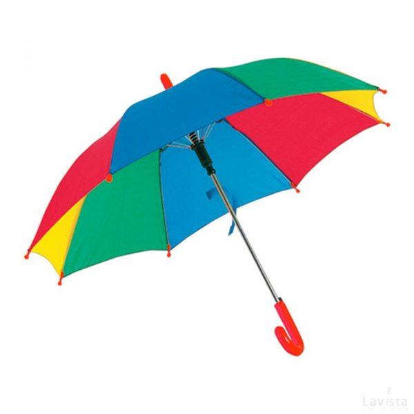 Bedrukte goedkope kinder paraplu met logo