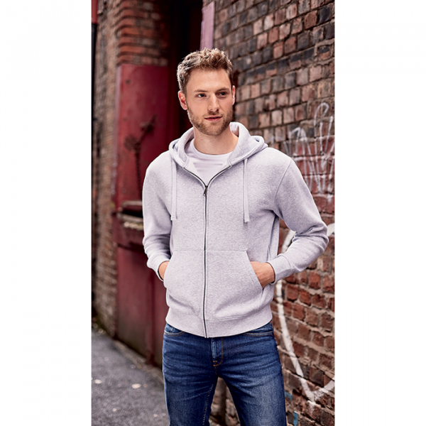 Bedrukte hooded sweater Russell