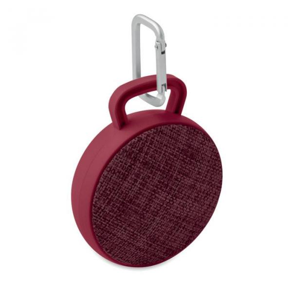 Bluetooth speaker roll met logo bedrukking