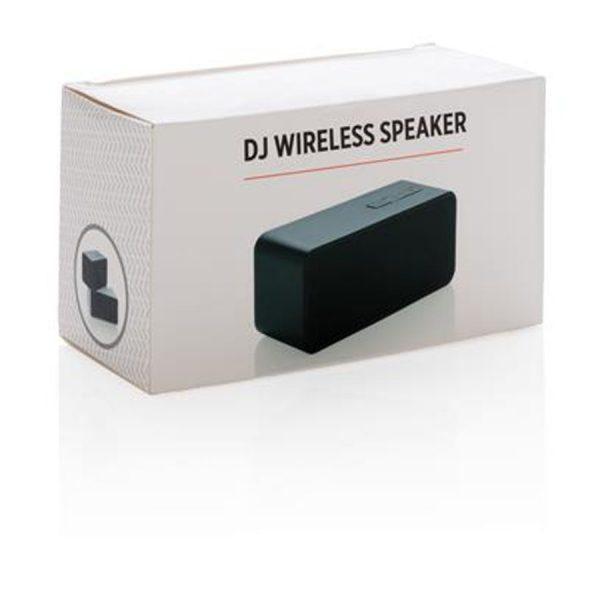 Draadloze Speaker XIMA Wit Zwart_Verpakking