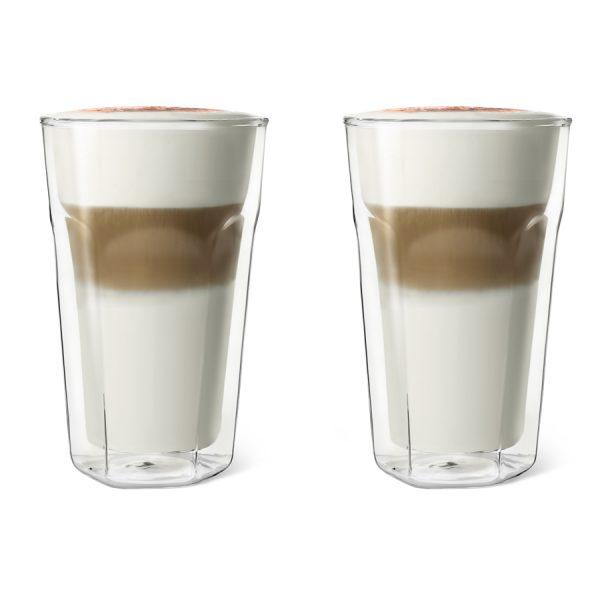 Dubbelwandig glas Latte Macchiato, set van 2