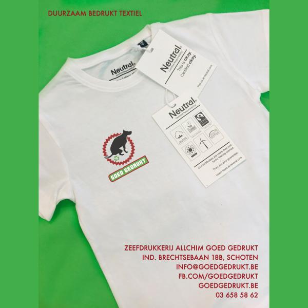 Ecologisch verantwoord bedrukt textiel