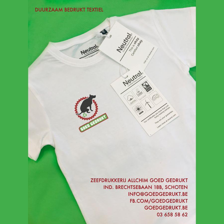 Textiles écologiquement responsables imprimées