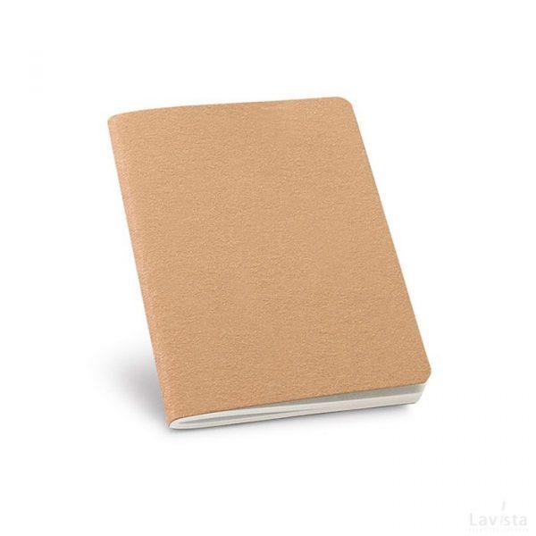 Goedkoop bedrukt notitieboekje Opperdoes Naturel