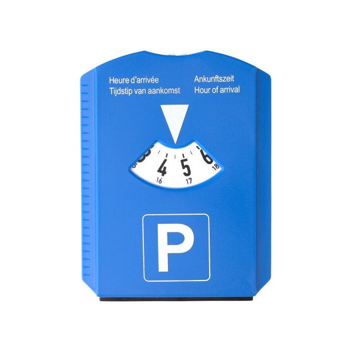 IJskrabber/parkeerkaart met logo bedrukking