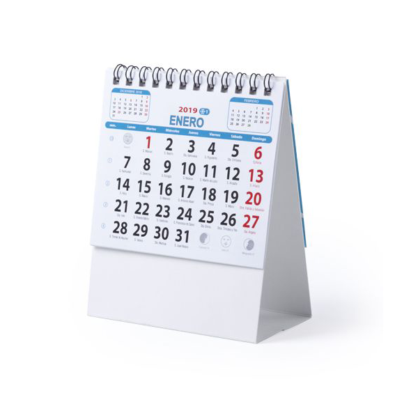 Kalender Ener met logo bedrukking