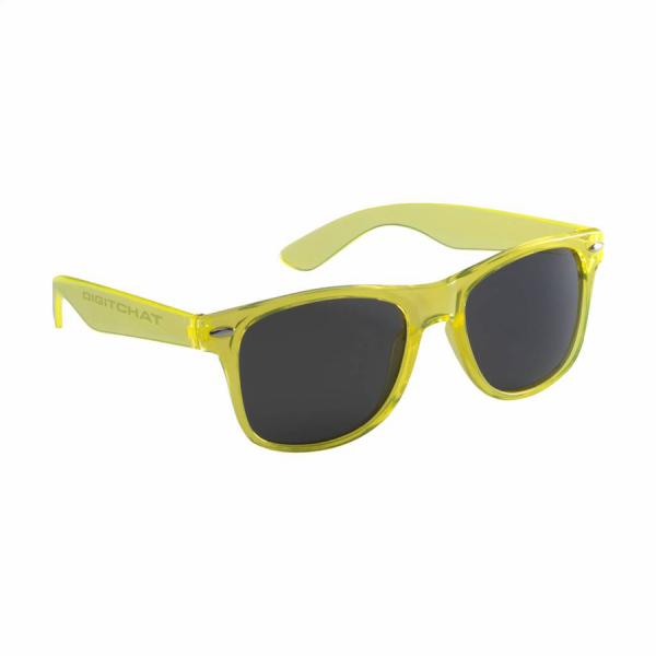 Malibu Trans zonnebril met logo bedrukking