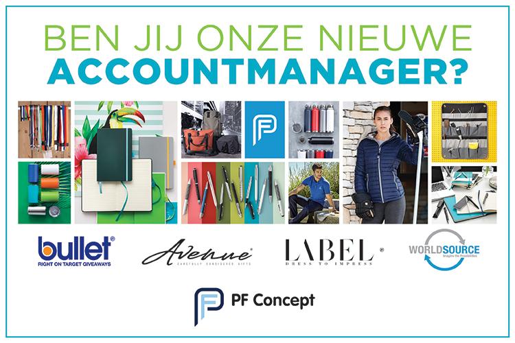 Accountmanager België (m/v) gezocht PF Concept
