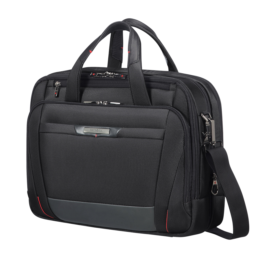 Samsonite Pro-DLX5 laptoptas met logo