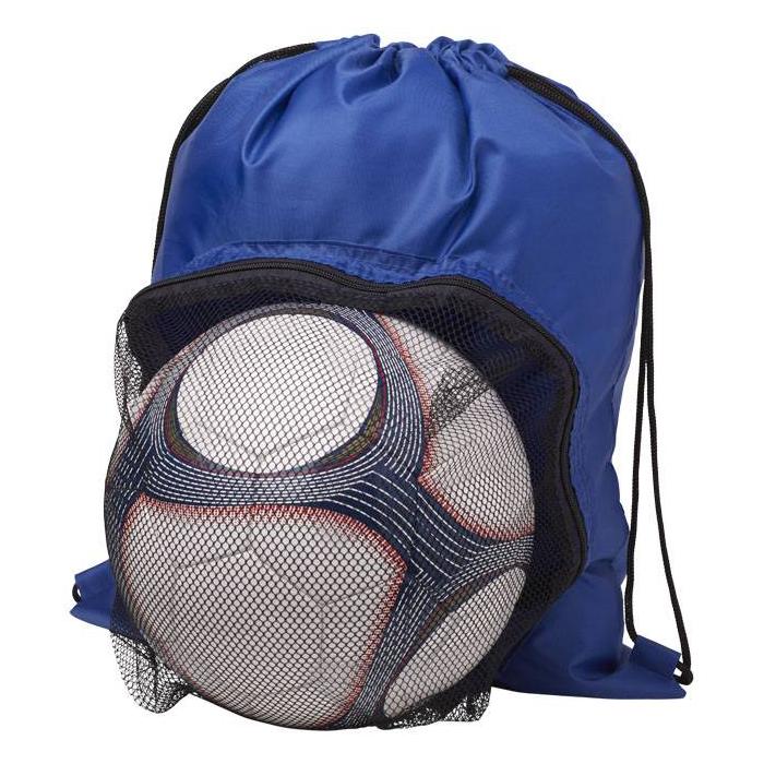 Voetbal premium rugzak met logo bedrukking