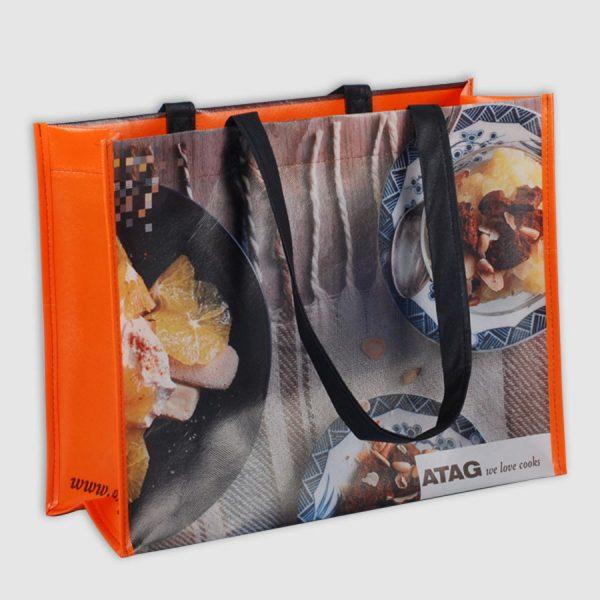 XIMA Draagtas Oranje Koken Woven