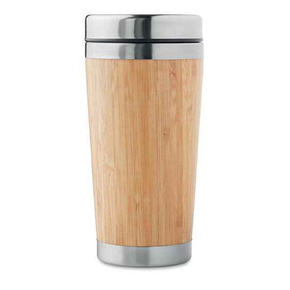 Gobelet de voyage en bambou