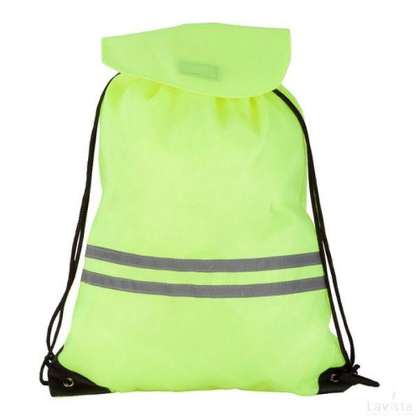 Bedrukte Carrylight rugzak met reflector goedkoop met logo