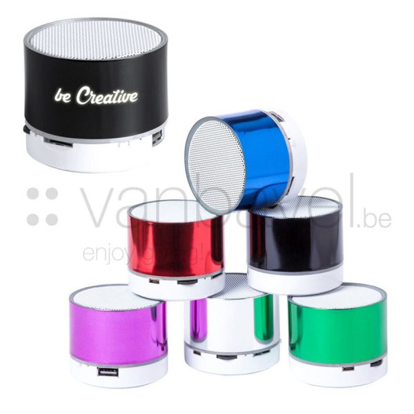Bluetooth speaker met LED verlichting_col