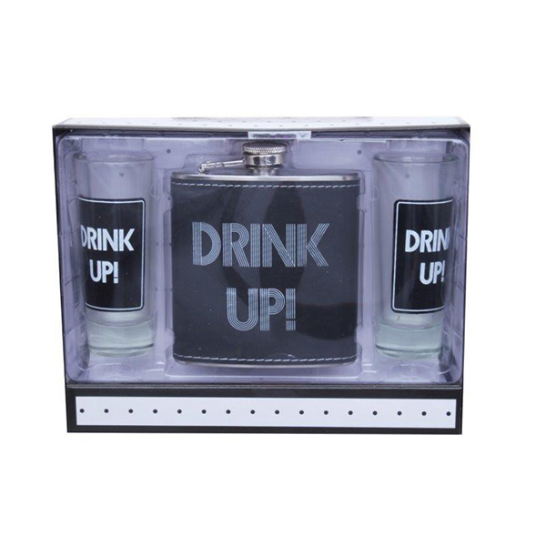 Drankspel met Hip Flask