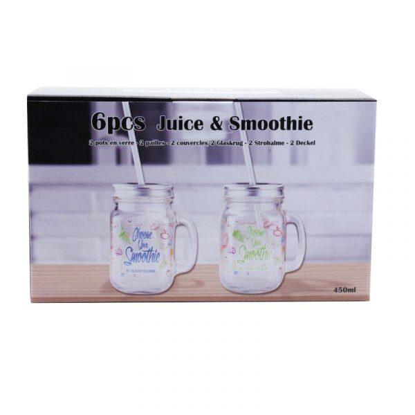 Drinkset smoothie 6-dlg