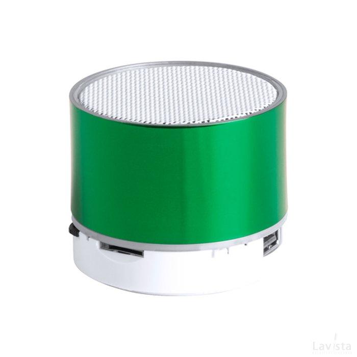 Goedkope Bluetooth speaker met bedrukking van een logo