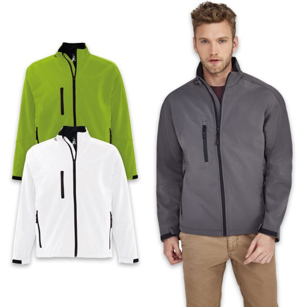 Jacket-softshell-Relax-340gm²