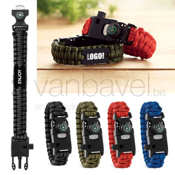 Paracord multifunctional bracelet