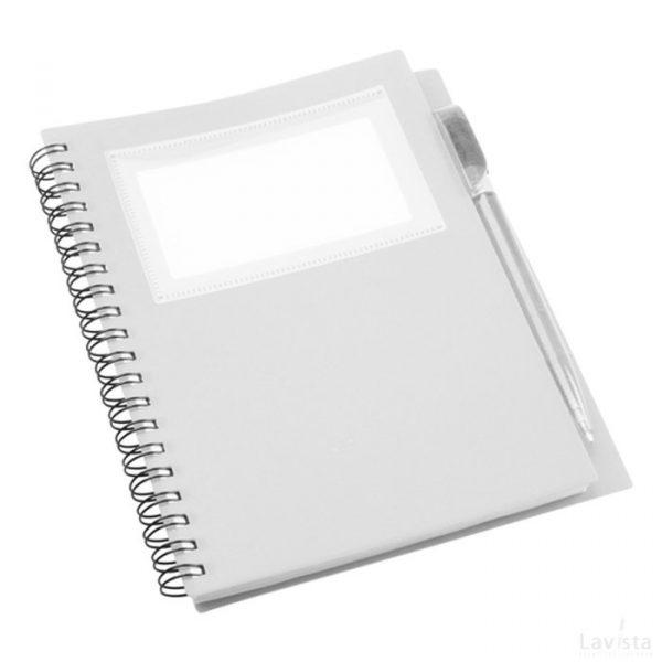 Tagged notitieboek goedkoop met bedrukt logo